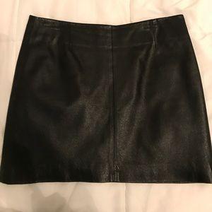 B.B. Dakota Leather mini skirt